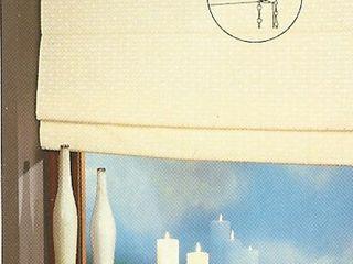 standard raffrollo rollo in 220 cm h he camille zinnia globe. Black Bedroom Furniture Sets. Home Design Ideas