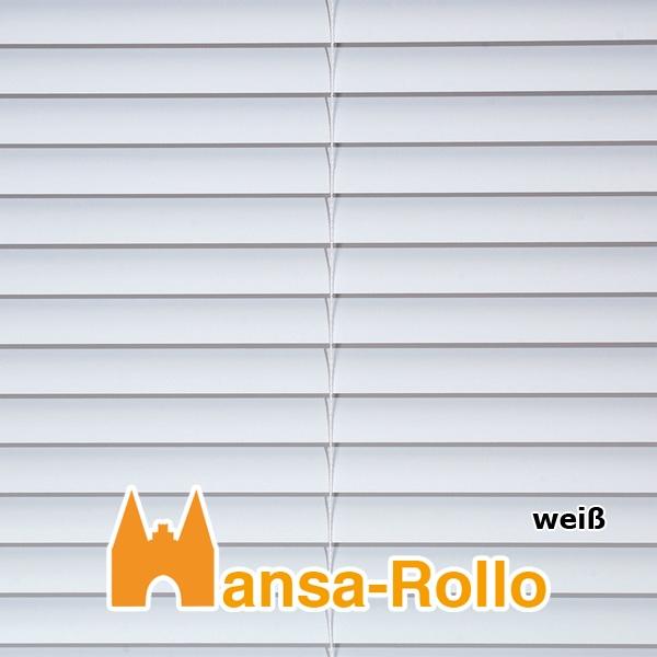Hervorragend Standard Aluminium Jalousie - Jalousetten in 130 cm Höhe weiß  WE37