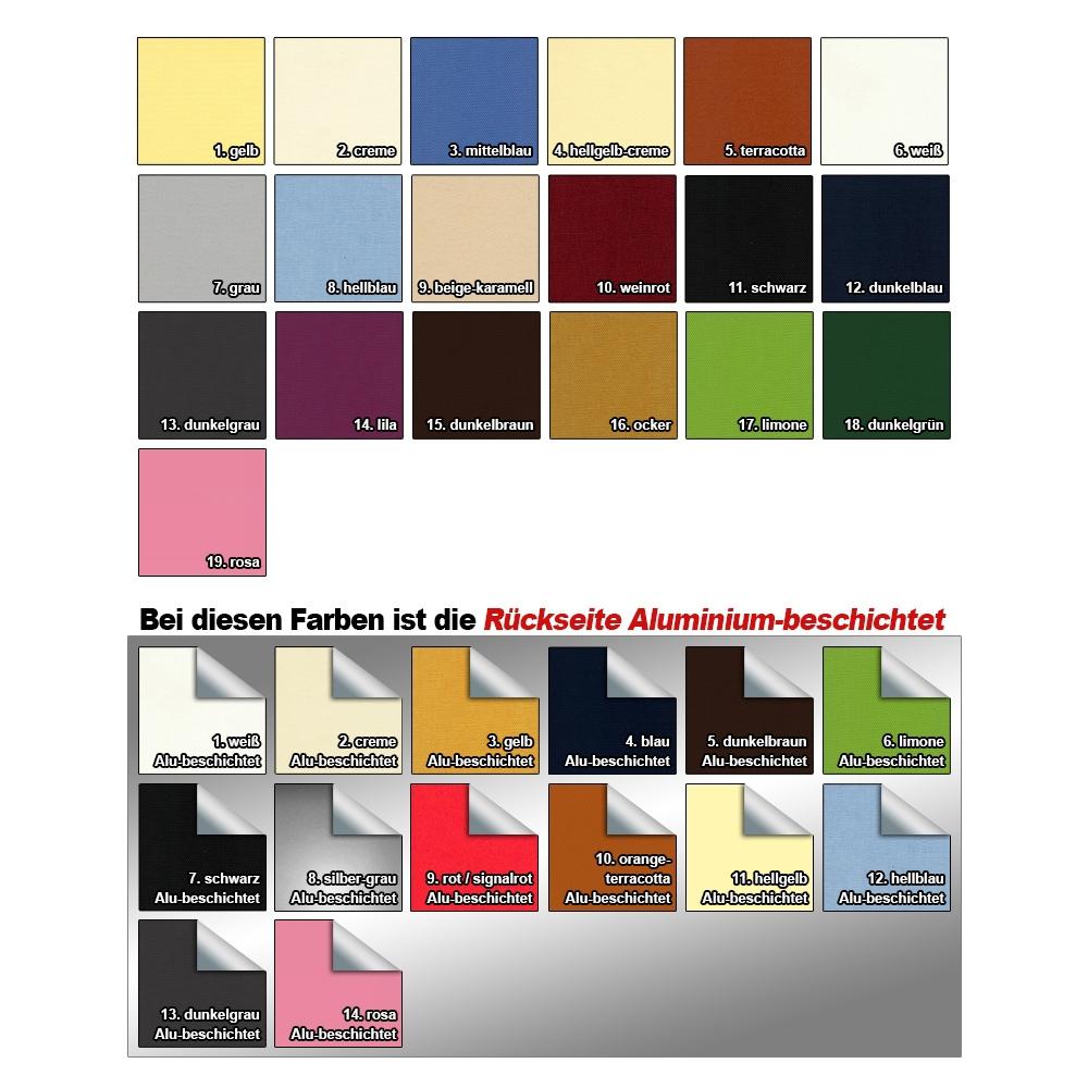 Velux GGU GPU GHU 18 Farben Haltekralle Verdunkelungsrollo Dachfenster Thermo f