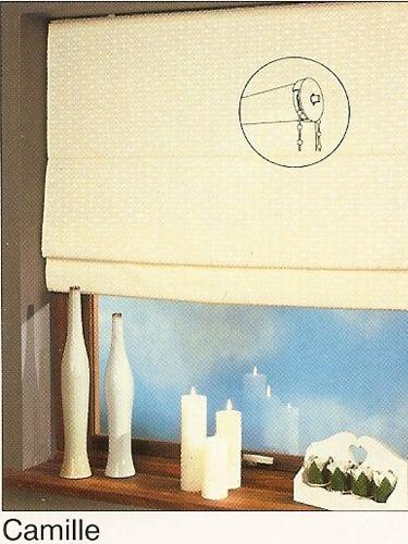 standard raffrollo rollo in 160 cm h he camille zinnia globe. Black Bedroom Furniture Sets. Home Design Ideas