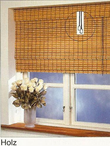 standard raffrollo rollo in 160 cm h he holz. Black Bedroom Furniture Sets. Home Design Ideas