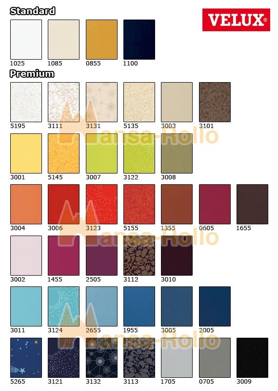 original velux verdunkelungsrollo f r velux ggl gpl ghl gtl gxl dkl s08 608 s. Black Bedroom Furniture Sets. Home Design Ideas